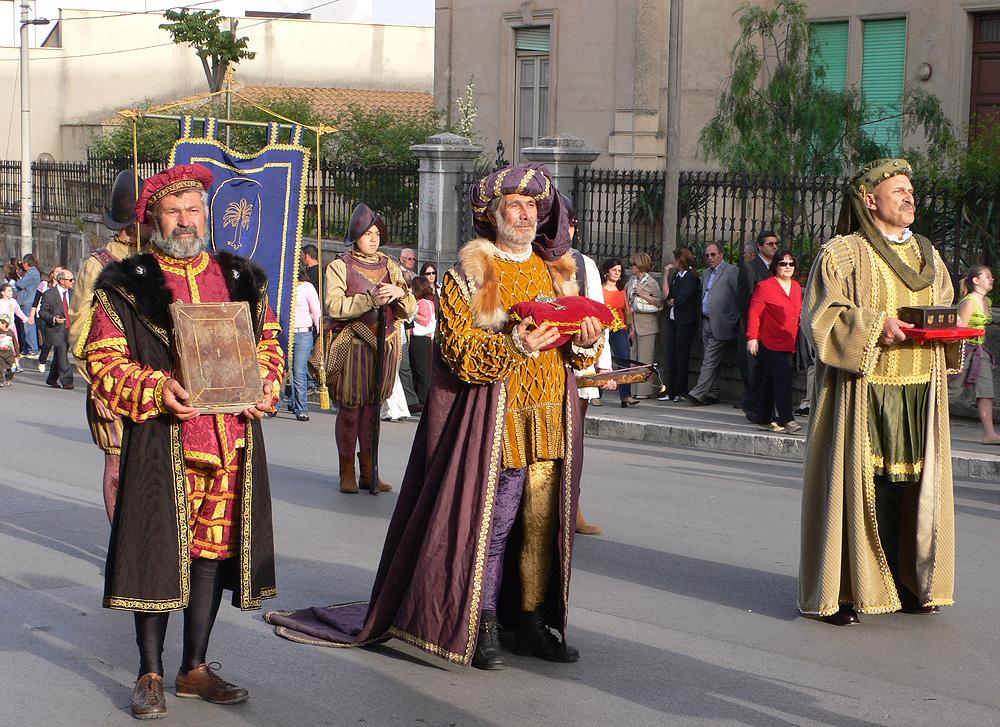 De Corteo Storico di Santa Rita da Cascia in Castelvetrano
