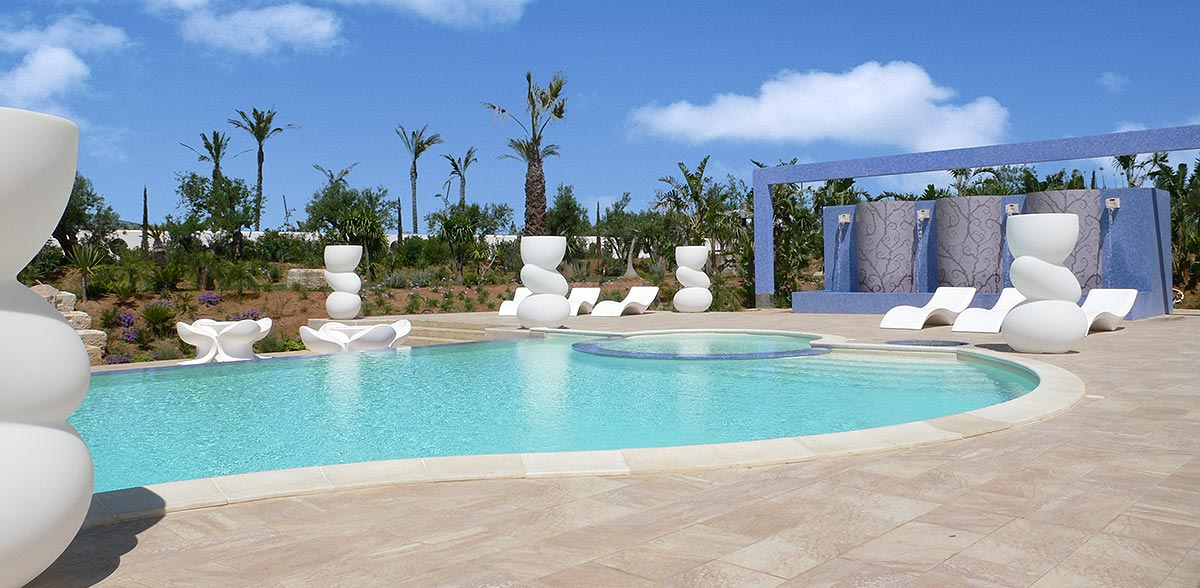 Het zwembad van de Borgo delle Olive