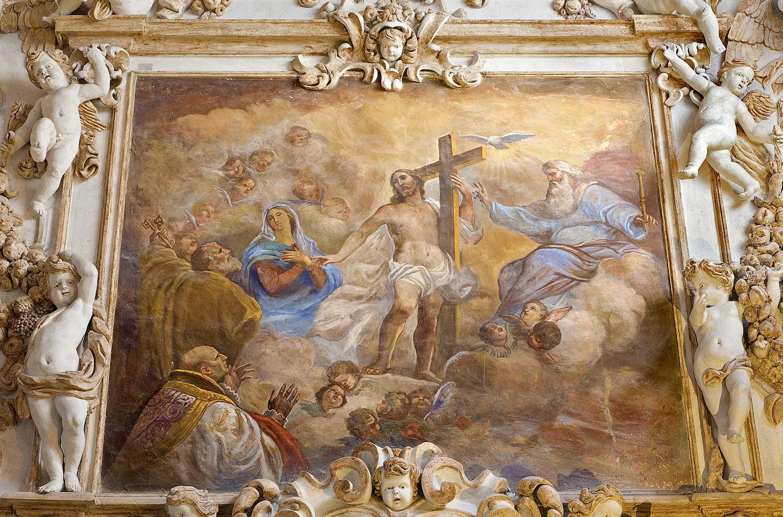 In de Chiesa del Gesù in Palermo