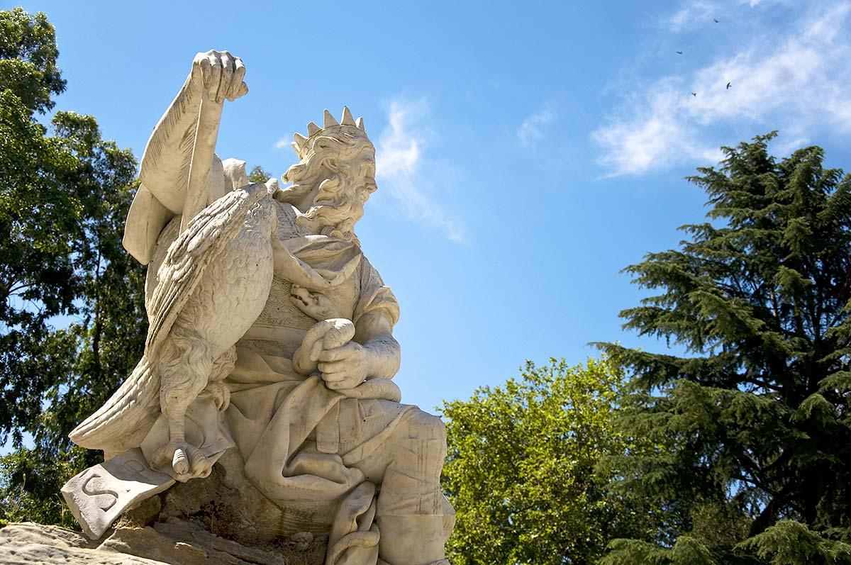 De Genius van Palermo in de Villa Giulia
