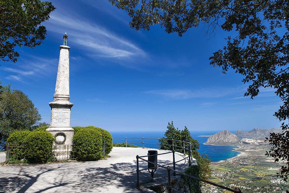 Uitzicht op Monte Cofano