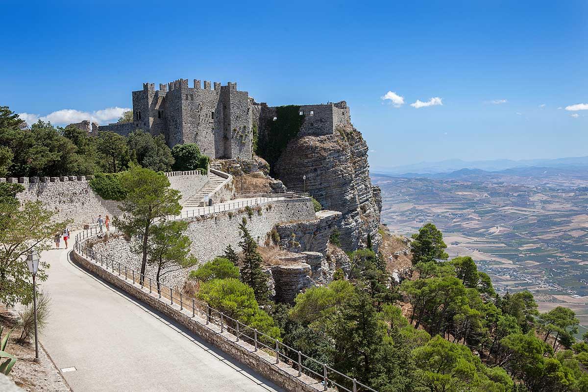 Het Castello di Venere in Erice
