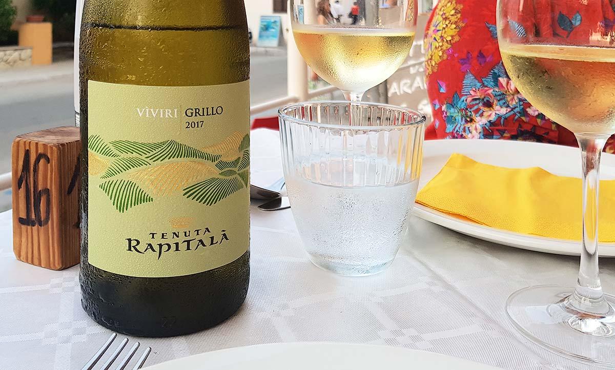De Grillo van wijnhuis Rapitalà