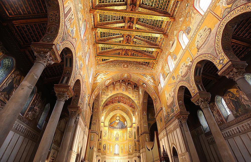 De mozaiekcyclus in de kathedraal van Monreale