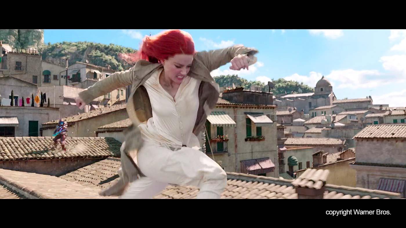 """Mera op de daken in """"Erice"""""""