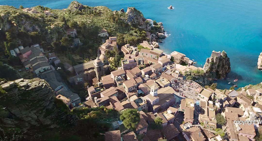 Aquaman op Sicilië