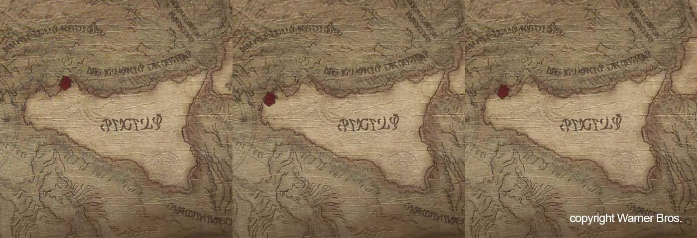 De echte locaties van Erice en Scopello op de kaart in de film Aquaman