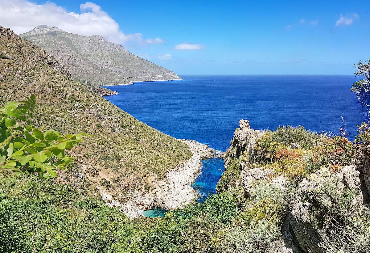 Het uitzicht vlakbij Punta Leone